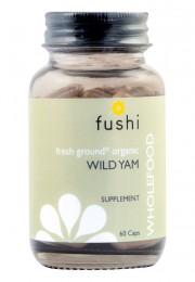 Wild Yam - organic - 60 capsules, Fushi,  60 pcs