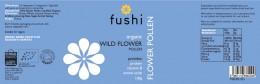 Пчелен прашец от диви цветя - био - 100 г, Fushi,  100 г