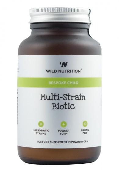 Пробиотици на прах за деца - 8 щама - 90 г, Wild Nutrition,  90 г