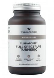 Turmaforte - пълноспектърна куркума - 60 капсули, Wild Nutrition,  60 бр