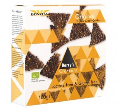 Хрупкави триъгълни крекери Original - био - 100 г