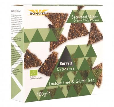Хрупкави триъгълни крекери Водорасли - био - 100 г