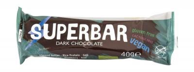 Десерт с тъмен шоколад Супербар - био - 40 г