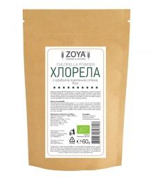 Хлорела (водорасли) на прах  - био - 60 г, ZoyaBG ®,  60 г