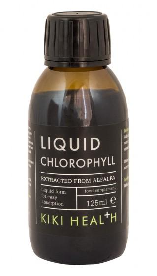 Течен хлорофил - 125 мл, Kiki Health,  125 мл