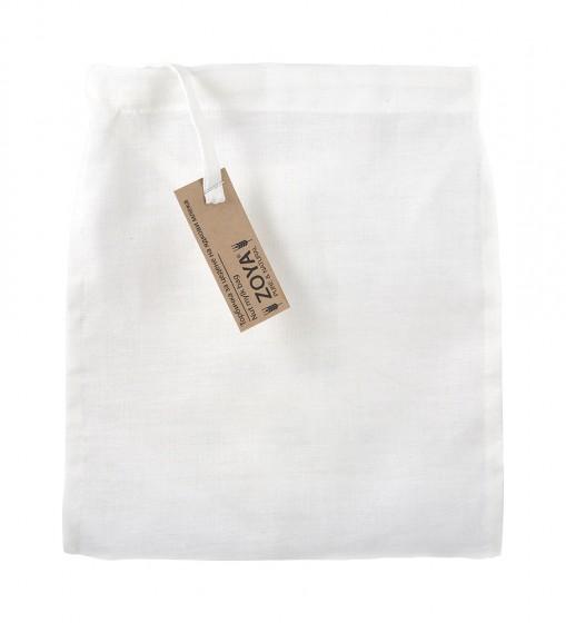 Торбичка за цедене на ядкови напитки - 100% лен,  1 бр