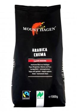 Кафе на зърна Arabica Crema - био - 1 кг