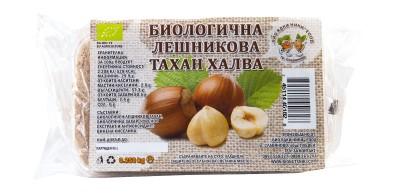 Лешникова тахан халва - био - 250 г