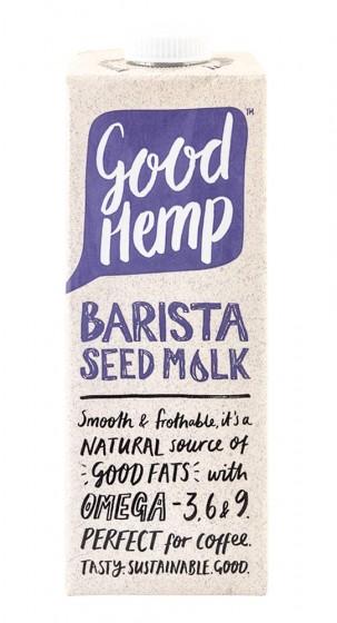Конопена напитка Barista - 1 л, Good Hemp,  1 L