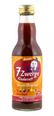 Детски мултивитаминен сок Седемте джуджета - био - 200 мл