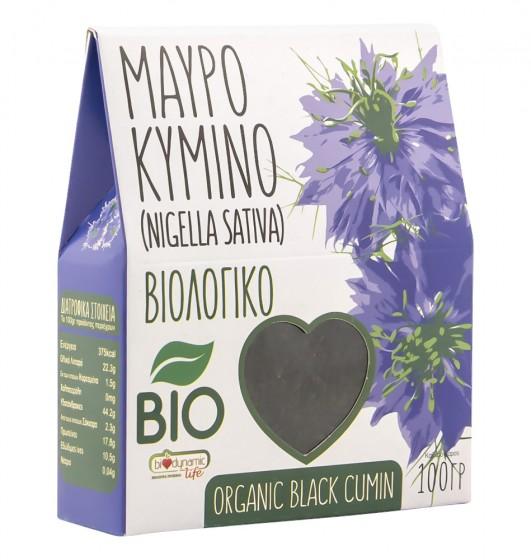 Семена от черен кимион - био - 100 г, Biodynamic Life,  100 г