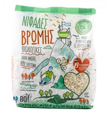 Wholegrain Oat Flakes - organic - 500g