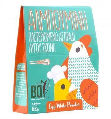 Пастьоризирани яйчни белтъци на прах - 100 г