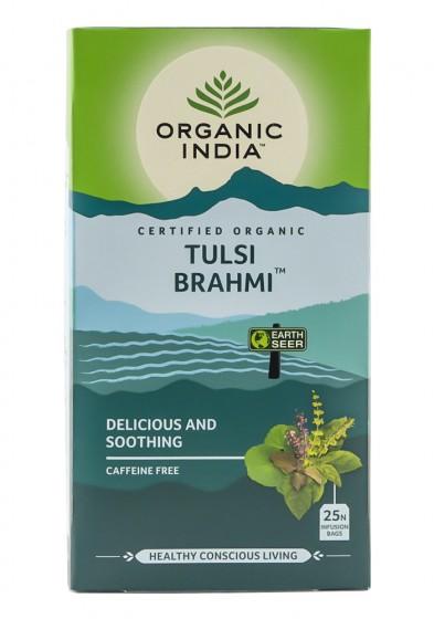 Чай Тулси и брахми - био - 25 бр, Organic India,  25 бр