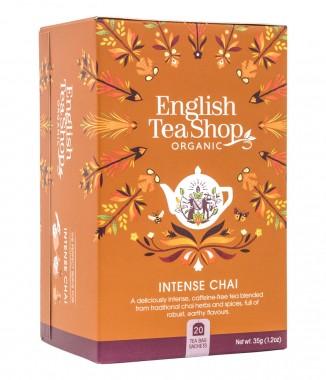 Органичен чай с подправки Intense Chai - 20 пакетчета