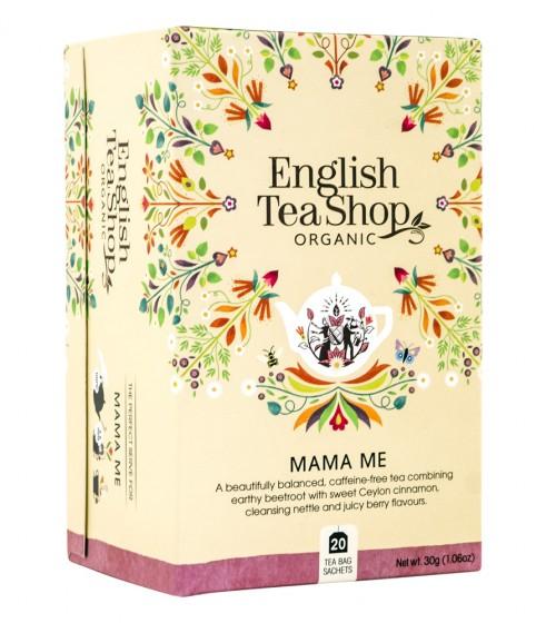Безкофеинов чай Mama Me - био - 20 пакетчета, English tea shop,  20 бр