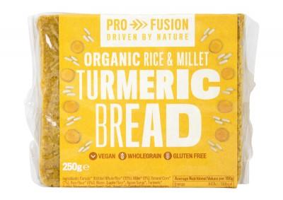 Безглутенов хляб с куркума - био - 250 г