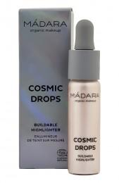 Течен хайлайтър Cosmic Drops - 13.5 мл, Madara,  1 бр,  1 бр,  1 бр,  1 бр