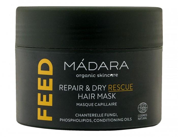 Възстановяваща маска за коса Repair & Dry Rescue - 180 мл, Madara,  180 мл