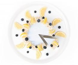 Торта Боровинки и лимон - 8 / 12 парчета, Сладкарски цех Зоя,  8 бр,  12 бр