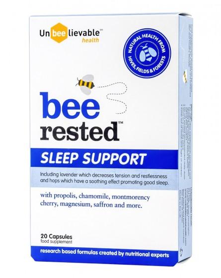Bee Rested - Sleep Support - 20 capsules, Unbeelievable Health,  20 pcs