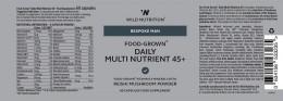 Ежедневни мултивитамини и минерали за мъже 45+ - 60 капсули, Wild Nutrition,  60 бр