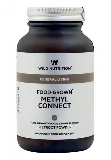 Комплекс Methyl Connect - 60 капсули, Wild Nutrition,  60 бр