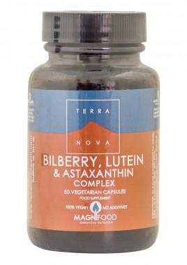 Комплекс Боровинка, лутеин и астаксантин - грижа за очите - 50 капсули
