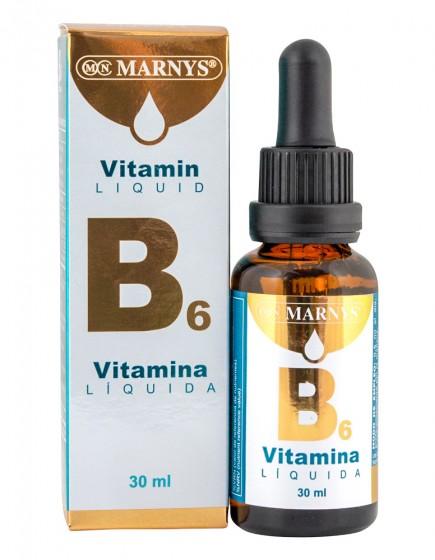 Течен витамин B6 - 30 мл, Marnys,  30 мл