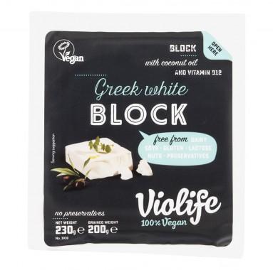Бял гръцки блок Виолайф - 200 г