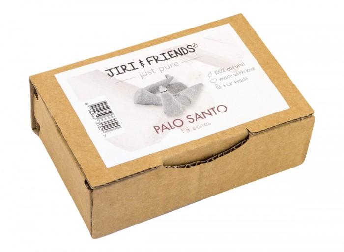 Пало санто - конуси за горене - 15 бр, Jiri & Friends,  15 бр