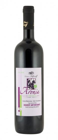 Плодово вино от арония - био - 750 мл,  750 мл