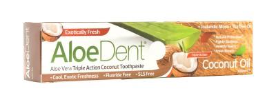Паста за зъби с алое и кокосово масло - 100 мл