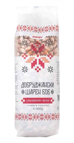 Добруджански шарен боб - 500 г, Статев,  500 г
