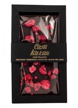 Занаятчийски шоколад с малини - 70 г