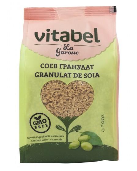 Соев гранулат Vitabel - 200 г, La Garone,  200 г