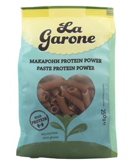 Макарони Protein Power - без глутен - 250 г, La Garone,  250 г