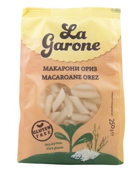 Макарони от ориз - без глутен - 250 г, La Garone,  250 г