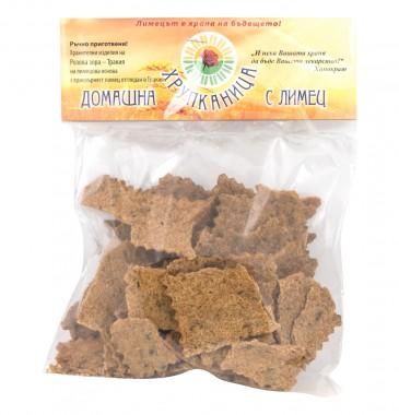 Домашни крекери с лимец Хрупканица - 100 г