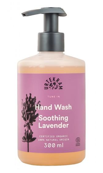 Течен сапун за ръце Успокояваща лавандула - био - 300 мл, Urtekram,  300 мл