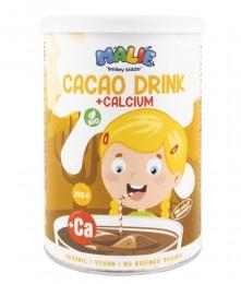 Какаова напитка на прах с калций - био - 250 г, Nutrisslim,  250 г