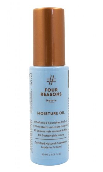 Овлажняващо масло за коса - спрей, Four reasons,  30 мл