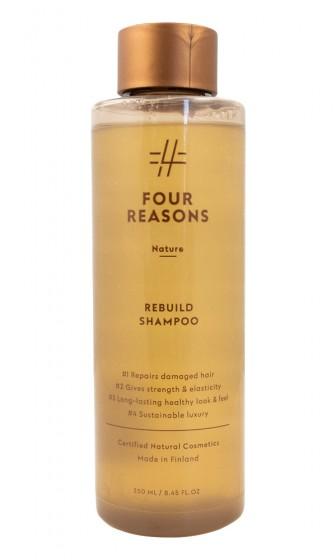 Възстановяващ шампоан за увредена коса, Four reasons,  250 мл