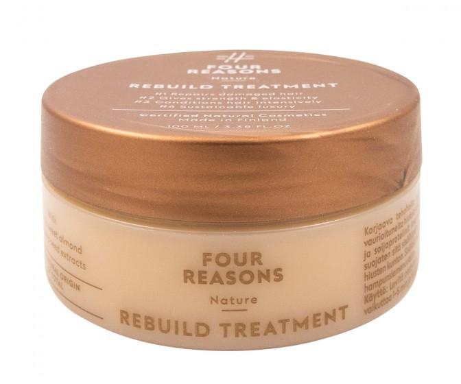 Възстановяваща терапия за увредена коса, Four reasons,  100 мл