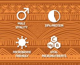 Микс от покълнали семена и зърнени култури 'Chieftain' - био, Ancestral Superfoods,  10 г