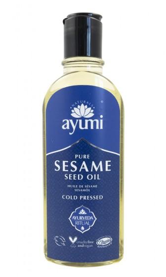 Чисто сусамово масло - студено пресовано , Ayumi,  150 мл