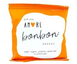 Суров био бонбон Amore Портокал, Biostyle,  40 г