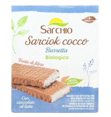 Кокосов десерт с млечен шоколад - био