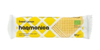 Хрупкава вафла Лимон - био