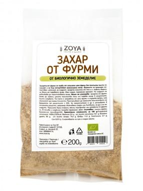Захар от фурми - био